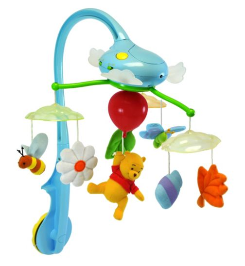 Winnie the Pooh Dream Clouds Mobile