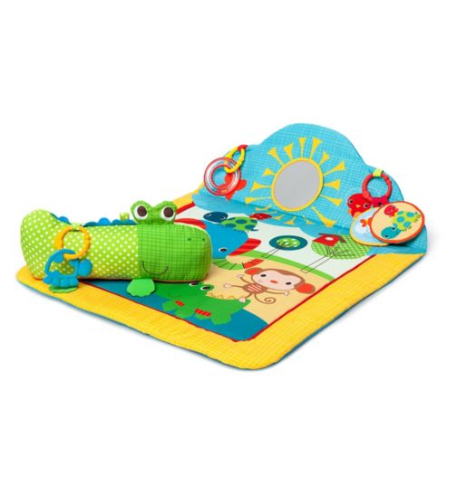 Bright Starts Cuddly Crocodile play mat