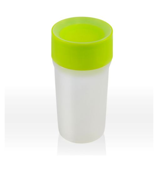 LiteCup Sippy Cup With Integrated Nightlight - Neon Green