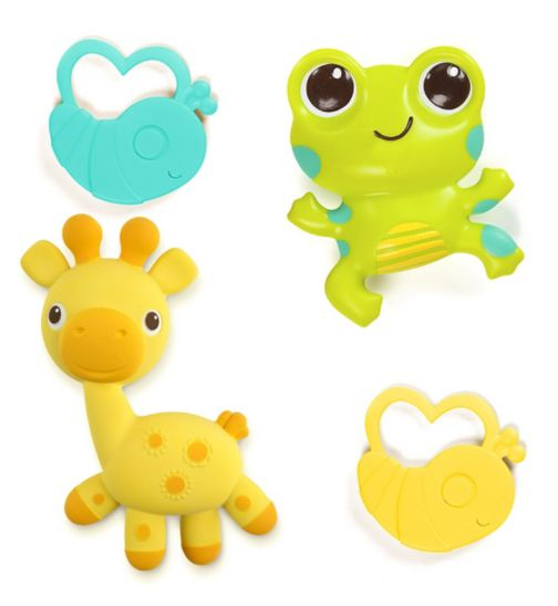 Bright Starts Soothimals Teether Toy