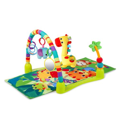 Brights Starts Having a Ball 4-in-1 Jungle Discovery Activity Gym