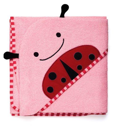 Skip Hop Zoo Hooded Towel Ladybug
