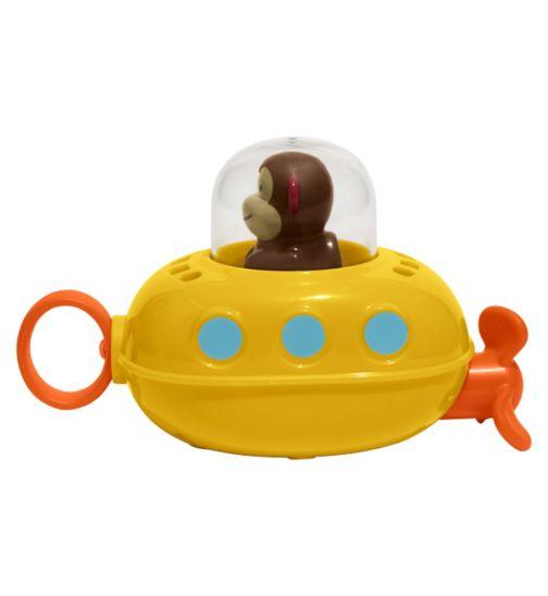 Skip Hop Zoo Pull and Go Monkey Submarine