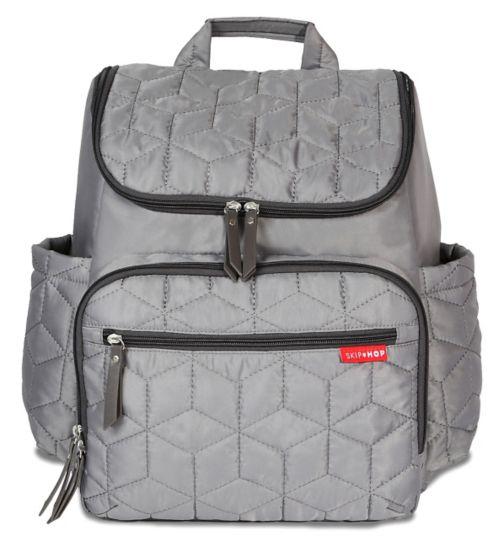 Skip Hop Forma Changing Backpack - Grey
