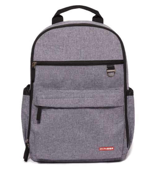 Skip Hop Duo Signature Changing Backpack - Heather Grey