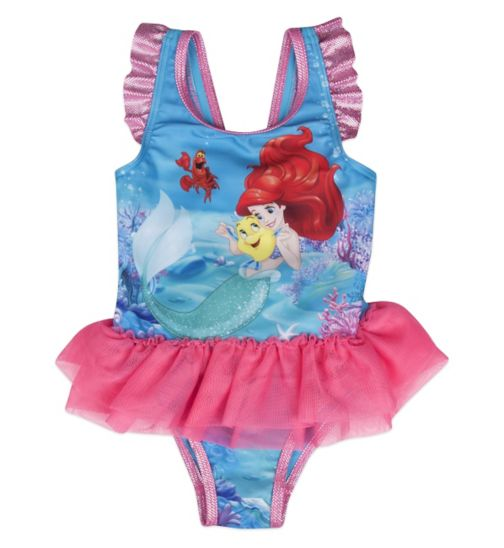 Mini Club Girls Swimsuit Little Mermaid