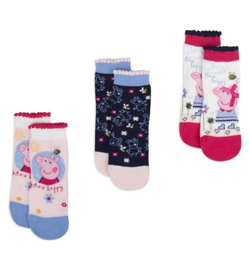 Mini Club Girls Socks Peppa Pig