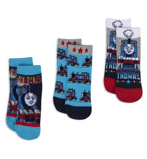 Mini Club Boys 3 Pack Socks Thomas the Tank Engine