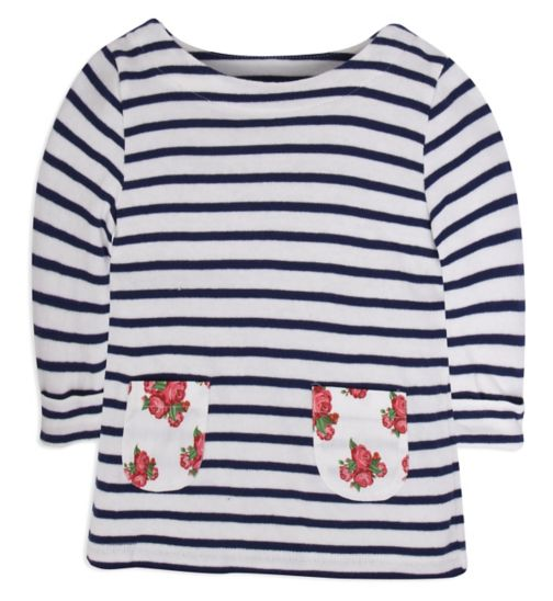 Mini Club Girls Top Stripe