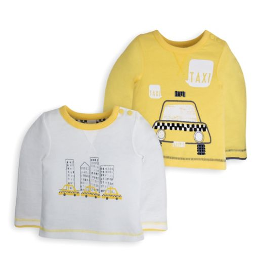 Mini Club Baby 2 Pack Tops Taxi