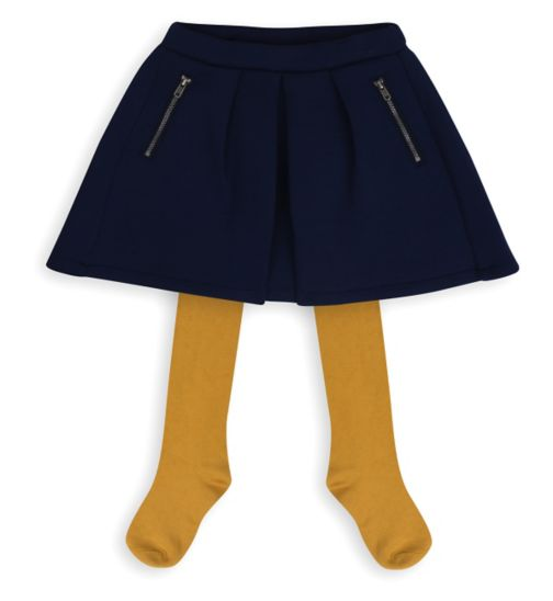 Mini Club Girls Skirt and Tights Set
