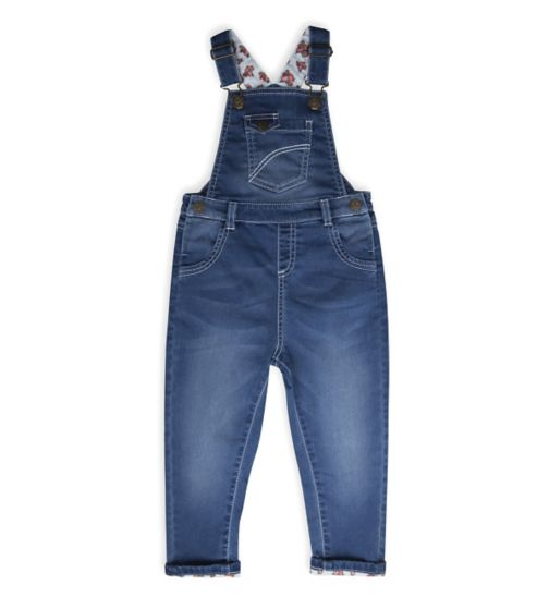 Mini Club Girls Denim Dungarees