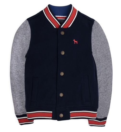 Mini Club Boys Sweat Jacket Navy