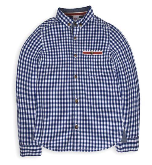 Mini Club Boys Shirt Blue Check