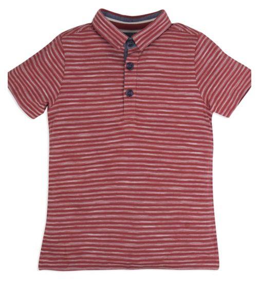 Mini Club Boys Short Sleeved Polo Stripe