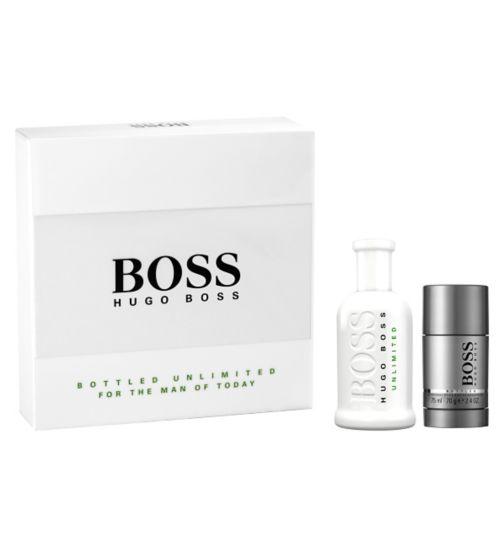 HUGO BOSS Boss Bottled Unlimited Eau de Toilette 100ml Gift Set