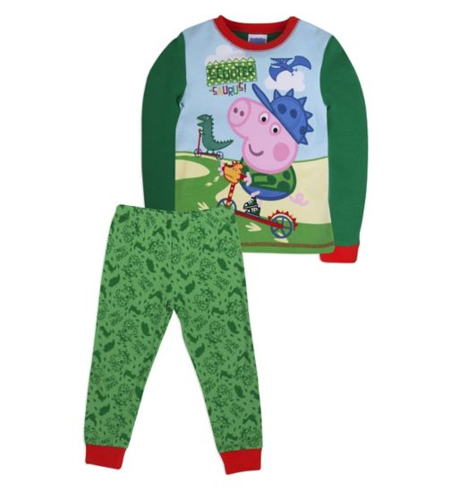 Mini Club Boys Pyjamas George The Pig