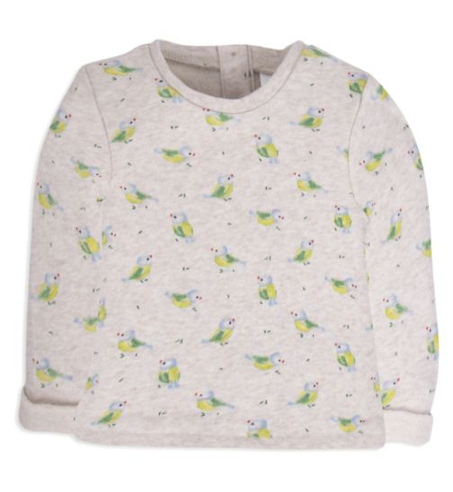Mini Club Baby Girls Sweat Top Bird