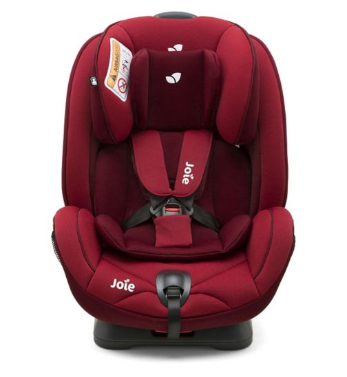 Joie Stages  0+ / 1 / 2 Car Seat - Cherry
