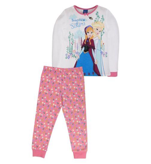 Mini Club Girls Long-Sleeved Pyjamas Frozen