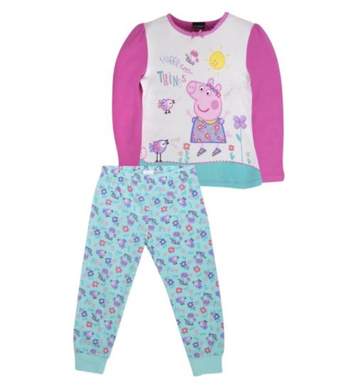 Mini Club Girls Pyjamas Peppa Pig
