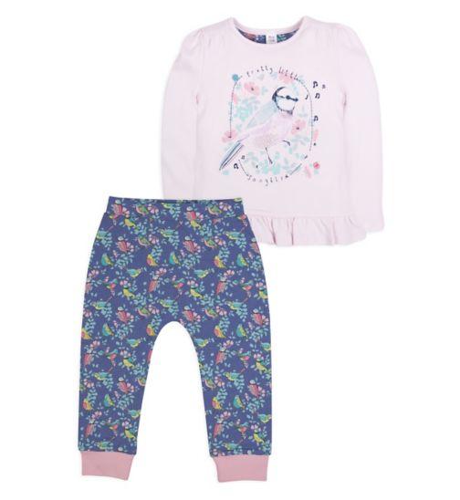 Mini Club Girls Pyjamas Bird