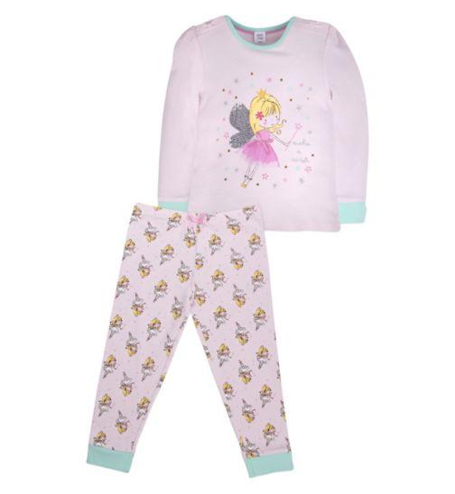 Mini Club Girls Pyjamas Pink Fairy