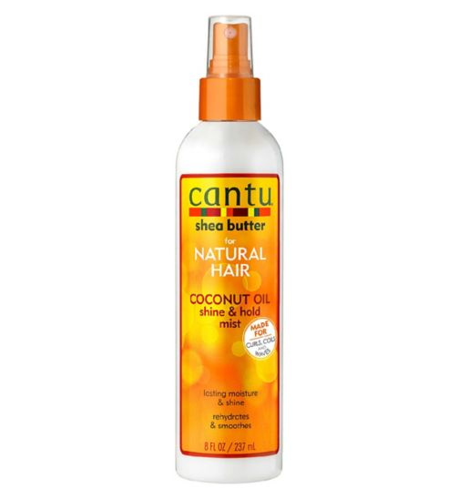 Cantu Coconut Oil Shine and Hold Mist