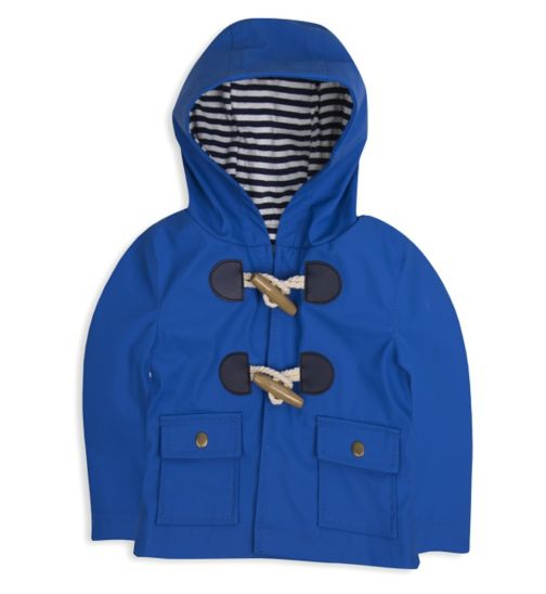 Mini Club Baby Boys Hooded Jacket Blue