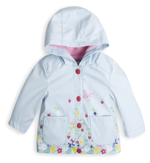 Mini Club Baby Jacket Blue Floral