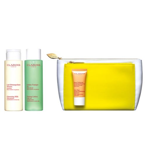 Clarins Cleansing Collection for Combination or Oily Skin