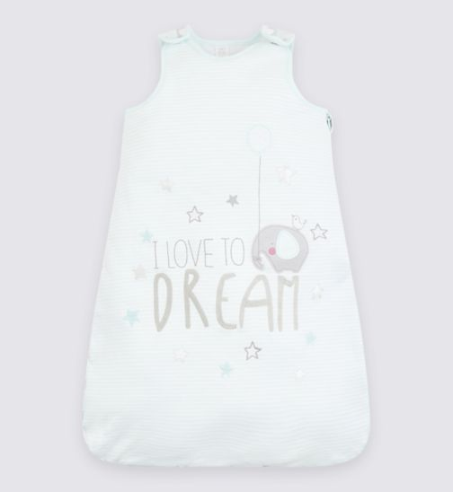 Mini Club Baby Sleeping Bag 'I Love to Dream'