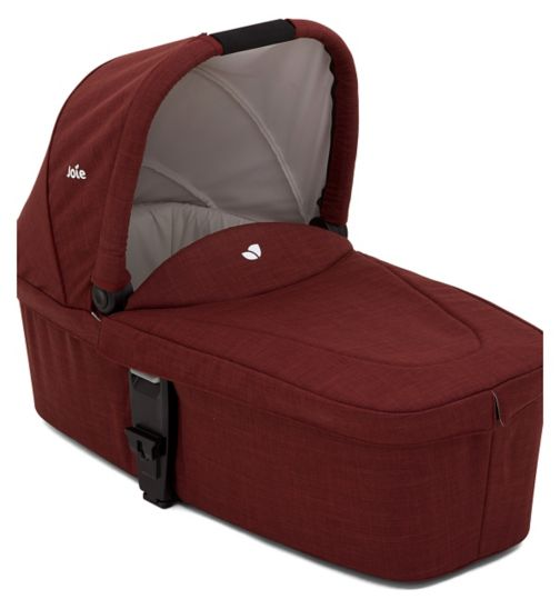 Chrome DLX Carrycot - Cranberry