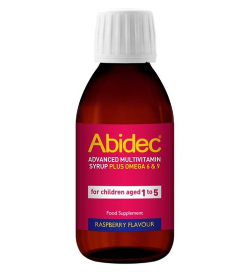 Abidec Advanced Multivitamin Syrup Plus Omega 6 & 9 150ml