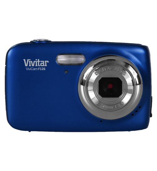 Vivitar F126 (14MP, 4x Digital Zoom,1.8inch Display) Digital Camera - Blue