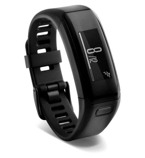 Garmin Vivosmart HR Activity Tracker - Black (Regular)