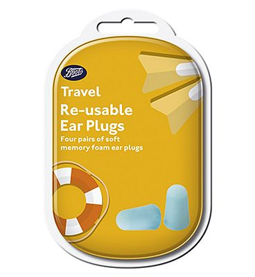 Boots Re-Usable Ear Plugs