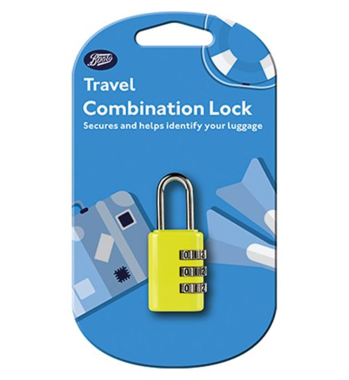 Boots Travel Combination Lock