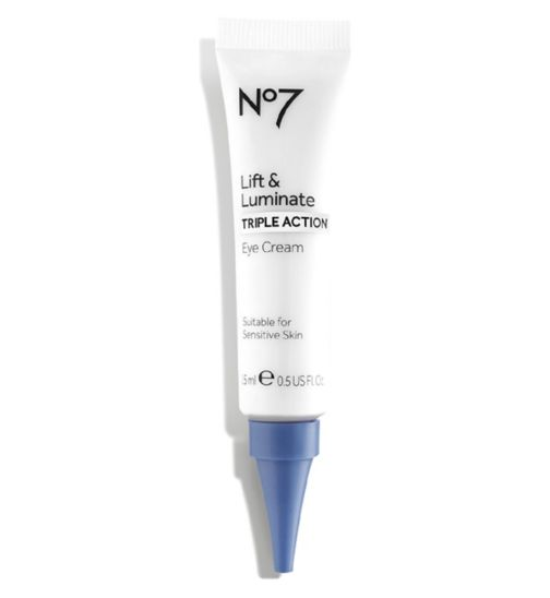 No7 Lift & Luminate TRIPLE ACTION Eye Cream 15ml