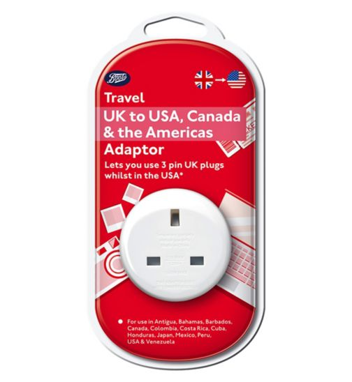Boots UK to USA, Canada, Central and Southern America Adaptor
