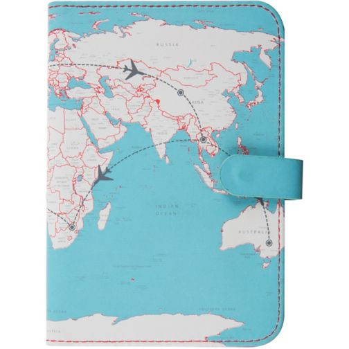 Trendz Map Passport Cover
