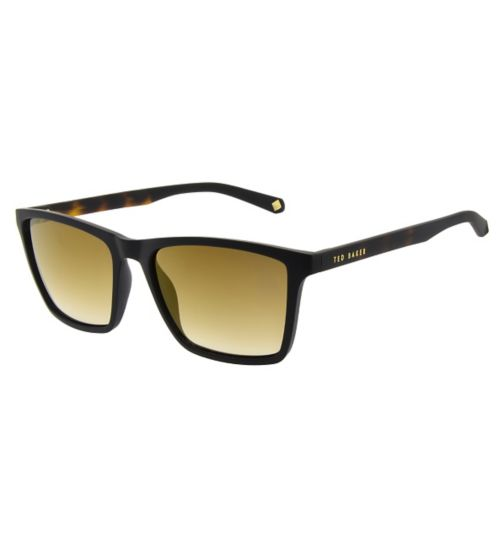 Ted Baker Mens Square Black Sunglasses