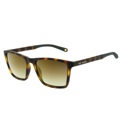 Ted Baker Mens Square Tortoise Sunglasses