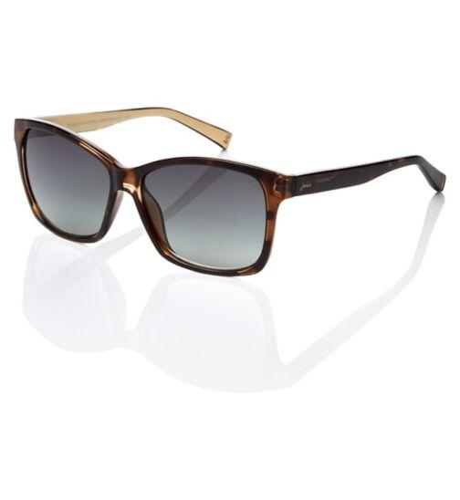 Joules Tortoise and Cream Square Sunglasses