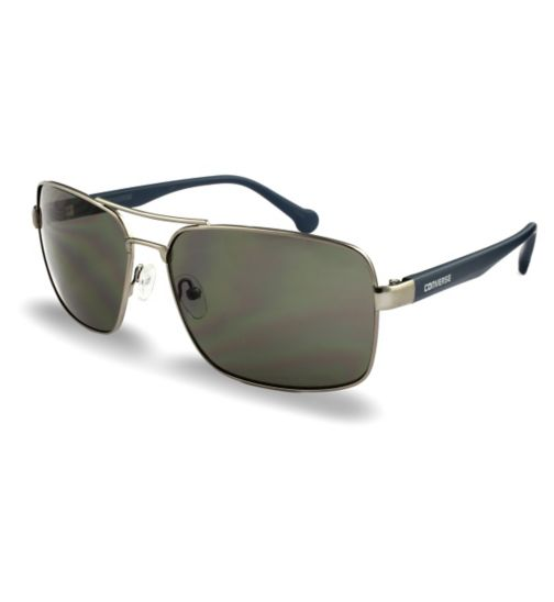 Converse Matt Gunmetal Aviator Sunglasses
