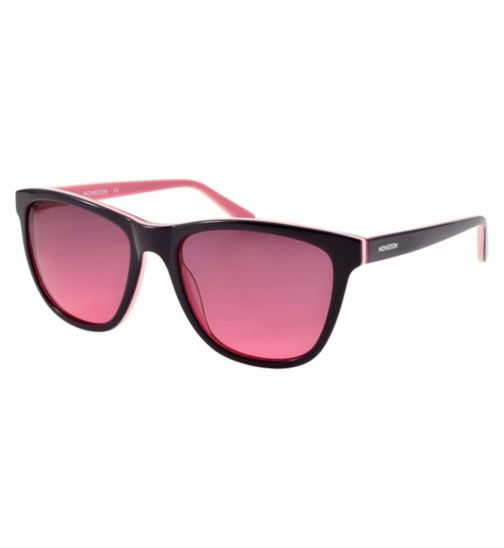 Monsoon Pink and Plum Sunglasses with Light Pink Inlay Detail