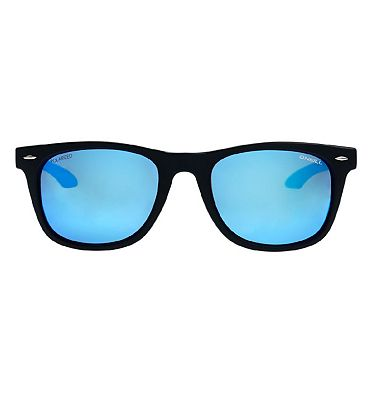 O'Neill Sunglasses Tow - Matte Blye Crystal and Blue Mirror Frame