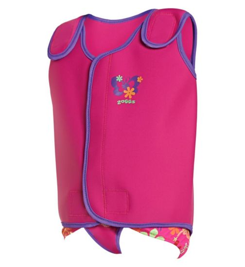 Zoggs Pink Baby Wrap