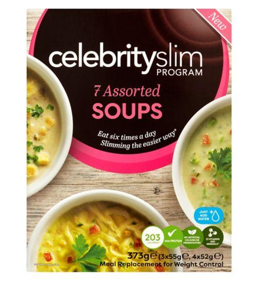 Celebrity Slim 7 Assorted Soups – 373g