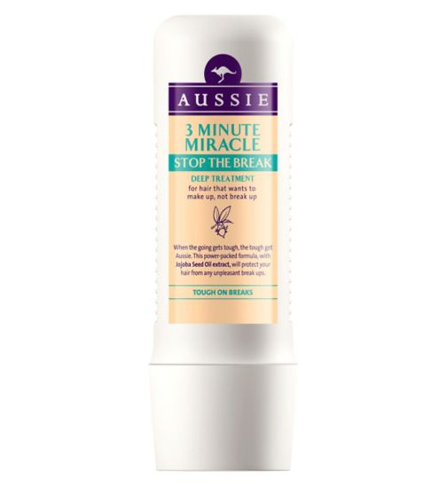 Aussie Stop The Break 3 Minute Miracle For Heat-Damaged Hair 250ml